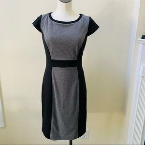 Jessica Howard Color Block Sheath Dress Sz 6